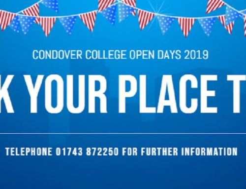Condover College Open Days 2019