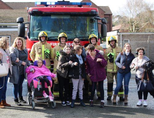 CCL's Church View Scheme visit the Fire Station