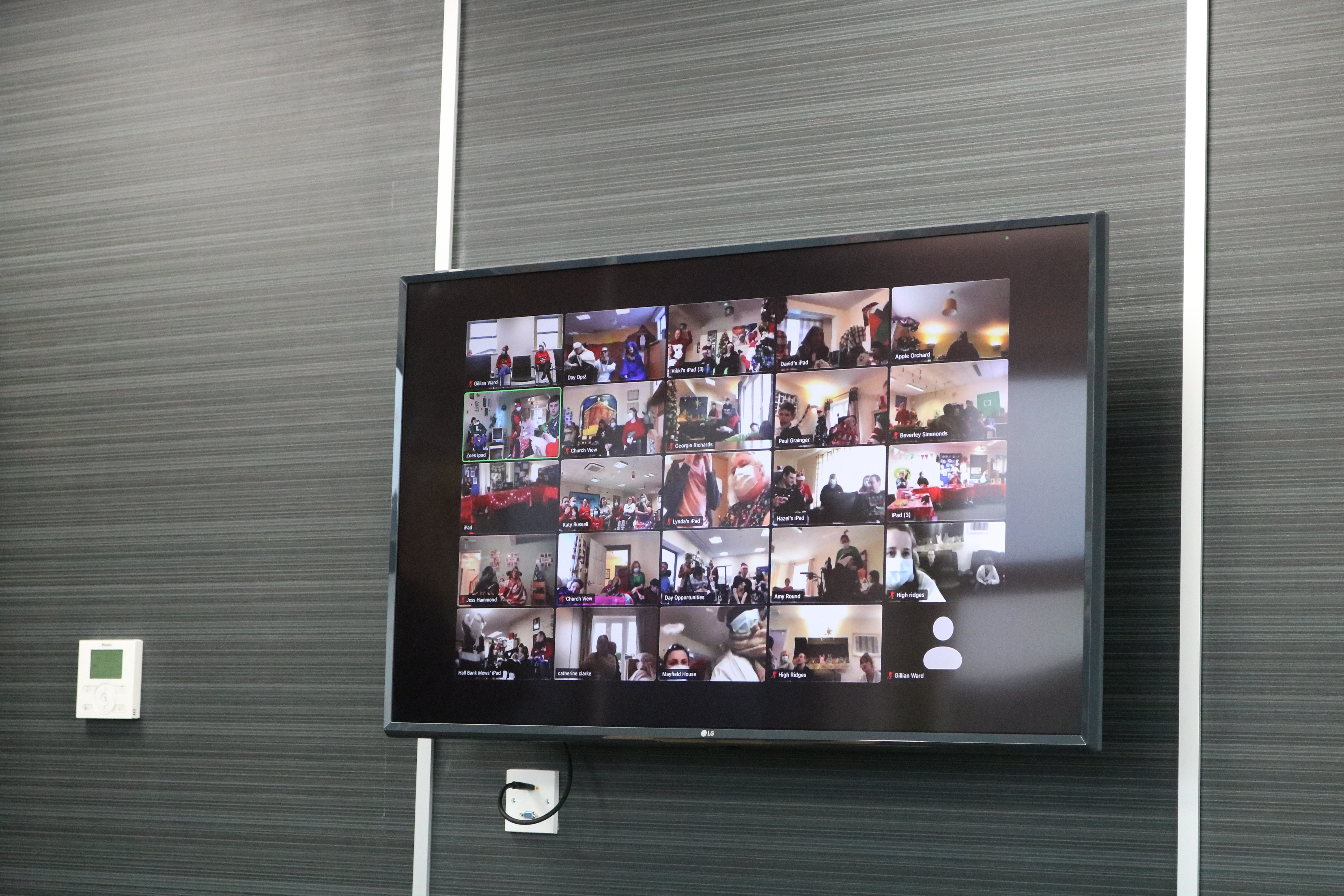 Our Virtual Christmas Party via Zoom!