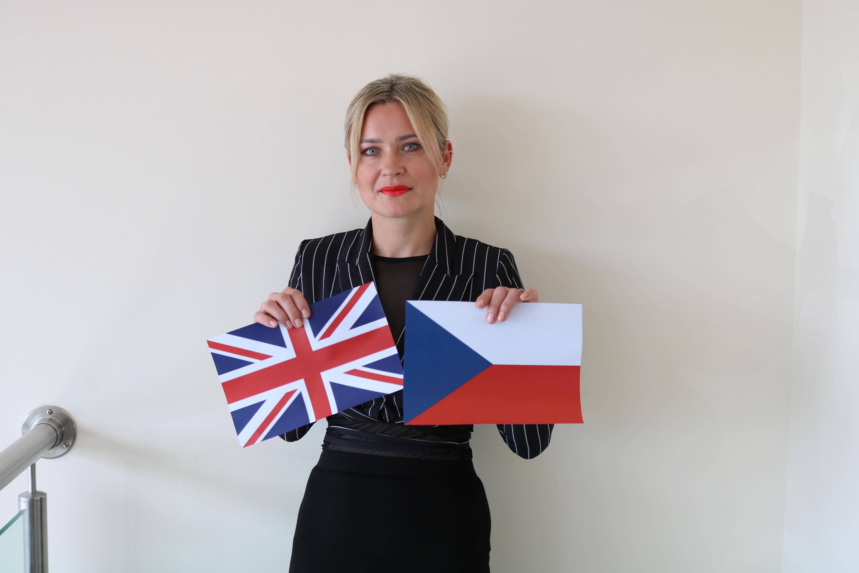 Congratulation to Magda Grobelna on becoming a British Citizen