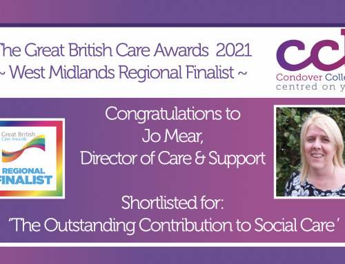 CCL Shortlisted for 7 Great British Care Awards